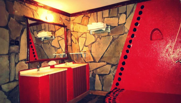 Bathrooms -- Le Bambou Gorilla Lodge